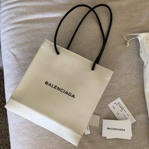 Balenciaga shopper North South tote